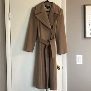 Wool/Cashmere Trench Coat